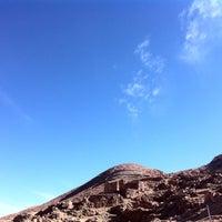 Photo taken at Pukara de quitor by Benjamin A. on 8/26/2016