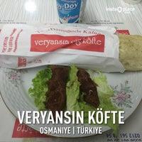 Photo taken at Veryansın Köfte by Mehmet K. on 3/15/2016