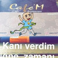 Photo taken at Cafe 'M - memorial H. by Mehmet K. on 8/9/2016