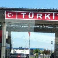 Photo taken at Greece Kipoi Border Station by Mehmet K. on 7/29/2013