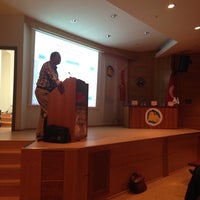 Photo taken at Mavi Paylaşım Sualtı Sporları ve Bilimleri Toplantısı by Sibel K. on 5/9/2015