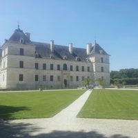 Photo taken at Chateau D'ancy Le Franc by Jean-Louis L. on 6/13/2014