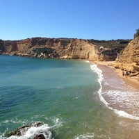 Photo taken at Playa Fuente Del Gallo by Vitor R. on 9/9/2014