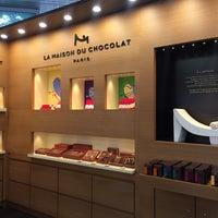 Photo taken at La Maison du Chocolat by Jee Eun (Jennifer) P. on 2/16/2016