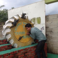 Photo taken at Taman Buaya (Crocodile World) by Andrew V. on 11/28/2015