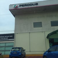 Photo taken at Perodua Sales & Service Center by Andrew V. on 5/30/2016