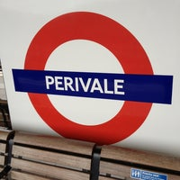 Photo taken at Perivale London Underground Station by Cuelin A. on 1/5/2013