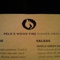 Photo taken at Pele's Wood Fire by Gknee on 8/1/2013
