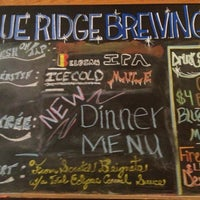 Photo taken at Blue Ridge Brewing Company by Chip L. on 9/1/2013