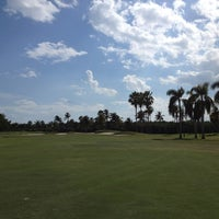 Photo taken at Crandon Golf at Key Biscayne by Jess W. on 2/8/2013