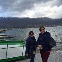Photo taken at Bojadzi Beach by DENİZ Ş. on 4/1/2015