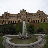 Photo taken at Bayerischer Landtag by Gorken G. on 8/20/2016