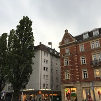 Photo taken at Leopoldstraße by Gorken G. on 8/18/2016