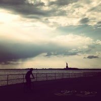 Photo taken at Picnic Point @ Governors Island by sara on 9/30/2012