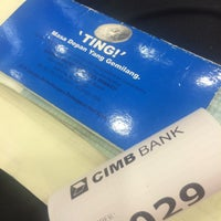Photo taken at CIMB Bank by Mohd N. on 2/16/2015