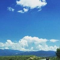Photo taken at Taos, NM by Melanie K. on 7/4/2015