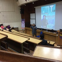 Photo taken at Kompleks Dewan Kuliah Fakulti Sains by Adam I. on 11/9/2016