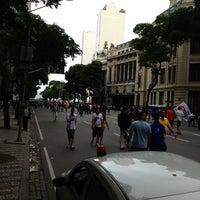 Photo taken at Avenida Rio Branco by Simone B. on 11/26/2012
