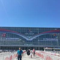 Photo taken at 中国国际展览中心新馆 New China International Exhibition Center (NCIEC) by January Y. on 8/25/2016