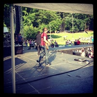 Photo taken at Atlantafest - Nature's Own Main Stage by Asa D. on 6/12/2013