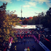 Photo taken at München Marathon by Jürgen F. on 10/13/2013