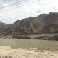 Photo taken at Wadi Al Bieh by Ahmed Z. on 1/2/2014