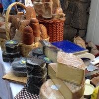 Photo taken at Nuestro Mercado de Quesos Artesanales AAMAP by Carlos S. on 12/8/2013