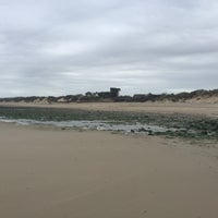 Photo taken at Plage Du Chatelet by Nathalie D. on 10/29/2017