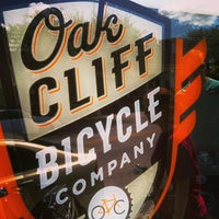 Photo taken at Oak Cliff Bicycle Company by Chad D. on 9/8/2013