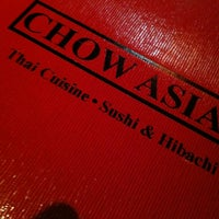Photo taken at Chow Asian by Chad D. on 1/13/2013