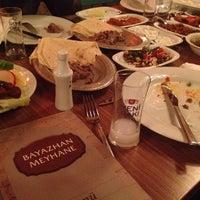Photo taken at Bayazhan Meyhane by Salih K. on 11/20/2013