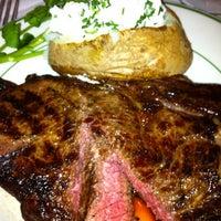 Photo taken at Majors Steak House by Conrad & Jenn R. on 11/12/2012