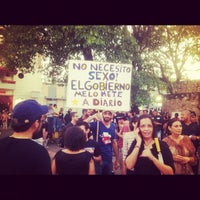 Photo taken at Parque Independencia by Ab V. on 11/11/2012