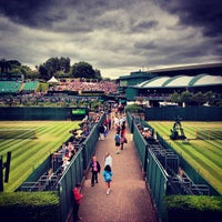 Photo taken at The All England Lawn Tennis Club by Chris T. on 7/4/2013