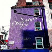 Photo taken at St Christopher's Place by Chris T. on 9/15/2012