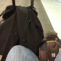 Photo taken at Gate B73 by poetic d. on 11/8/2012