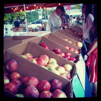 Photo taken at Boulder Farmers' Market by Amy G. on 10/4/2012