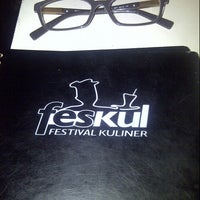 Photo taken at Feskul (Festival Kuliner) by Farah N. on 12/25/2013