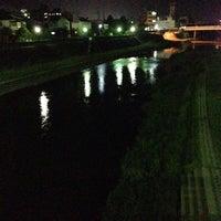 Photo taken at 武庫川 三田 車瀬橋周辺 by fuyu👁🗨® (. on 9/24/2013