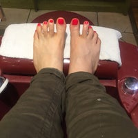 Photo taken at Lady Q Nails by Luisa M. on 2/27/2017