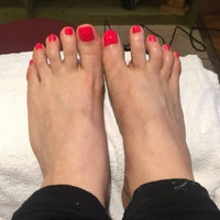 Photo taken at Lady Q Nails by Luisa M. on 1/8/2017