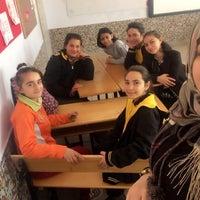Photo taken at Yukarı Pınarbaşı İlkokulu by Sümeyye A. on 11/22/2016