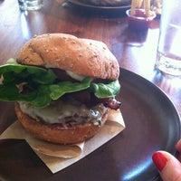 Photo taken at Roam Artisan Burgers by Megan on 2/4/2013
