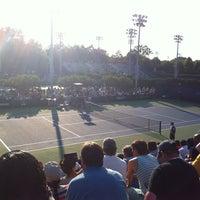 Photo taken at Court 7 - USTA Billie Jean King National Tennis Center by Gustavo R. on 8/27/2013