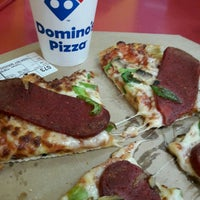 Photo taken at Domino's Pizza by Serpil K. on 5/1/2017