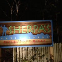Photo taken at Sherpa's Adventure Restaurant & Bar by Hal T. on 11/11/2012