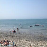 Photo taken at Plage Saint Jouin Bruneval by Anna B. on 7/21/2013