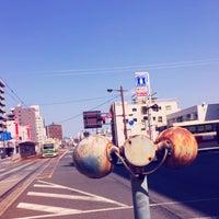 Photo taken at 広島電鉄 寺町電停 (Tera-machi Sta.) (Y2) by H K. on 3/20/2016