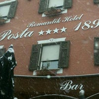 Photo taken at Romantic Hotel Posta 1899 by Stefano S. on 3/6/2016