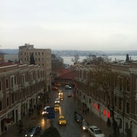 Photo taken at W Istanbul by Enis T. on 12/17/2012